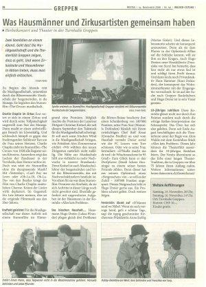 Quelle: Wochenzeitung vom 14. November 2008